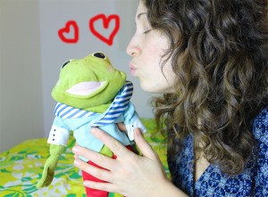 bisous grenouille2